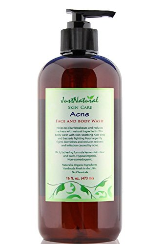 Acne Face And Body Wash By Just Naturals