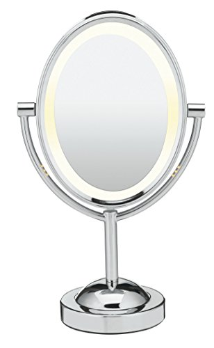 Conair Oval Shaped Double Sided Lighted Makeup Mirror. 10 Best Lighted Makeup Mirrors 2017