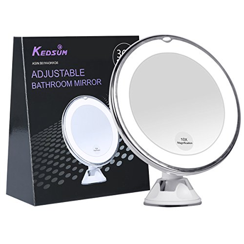 d62bd3a2882a 10 Best Lighted Makeup Mirrors 2019 (Make You Easier to Wear Makeup)