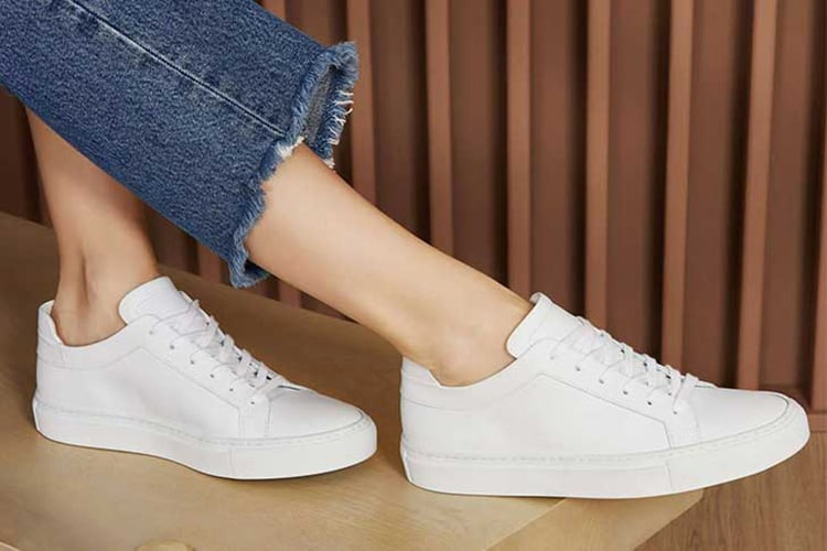 white sneakers for women