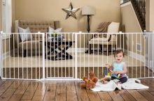 10 Best Baby Gates 2019 (Full Safe Your Baby from Injuries)