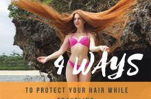 4 Ways to Protect Your Hair While Traveling